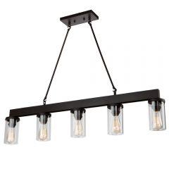 Menlo Park 5 Light Kitchen island lighting fixture