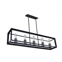 Vineyard 5 Light Kitchen island lighting fixture