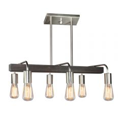 Lynwood 6 Light Kitchen island lighting fixture