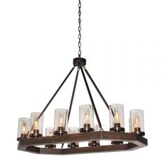 Jasper Park 12 Light Kitchen island lighting fixture