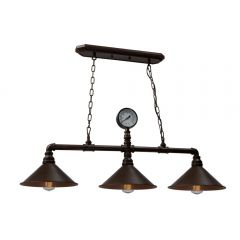 Industrial Revival 3 Light Chandelier