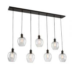 Clearwater 7 Light Kitchen island lighting fixture