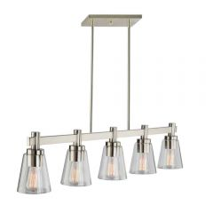 Clarence 5 Light Kitchen island lighting fixture