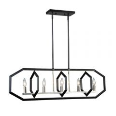 Preston 5 Light Kitchen island lighting fixture