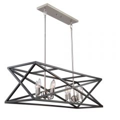 Elements 8 Light Kitchen island lighting fixture