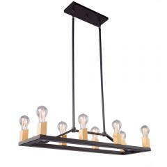 Skyline 8 Light Kitchen island lighting fixture