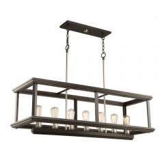 Sandalwood 7 Light Kitchen island lighting fixture