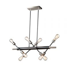 Truro 8 Light Kitchen island lighting fixture