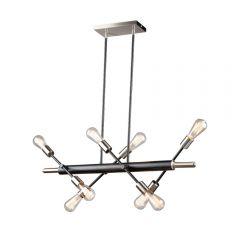 Truro 8 Light Kitchen island lighting fixture