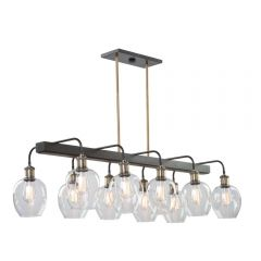 Hennessy 10 Light Kitchen island lighting fixture