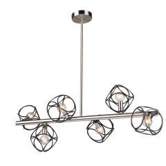 Sorrento 6 Light Kitchen island lighting fixture