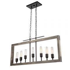Gatehouse 7 Light Kitchen island lighting fixture