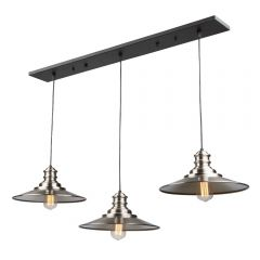Broxton 3 Light Kitchen island lighting fixture