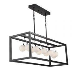 Massey 11 Light Kitchen island lighting fixture