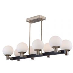 Tilbury 8 Light Kitchen island lighting fixture