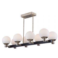 Tilbury 8 Light Kitchen island lighting fixture