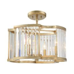 Darcy 4 Light Distressed Twilight Ceiling Mount