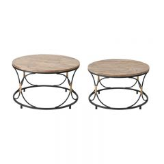 ELK Home 3200-254/S2 Fisher Island Coffee Table (Set of 2)