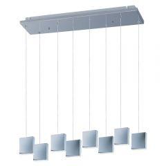 Modern Acrylic Brick 8 Light Multi Pendant