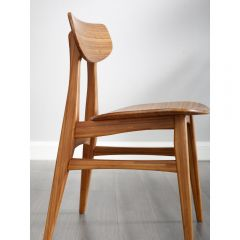 Bamboo Cassia Dining Chair, Amber, (Set Of 2)