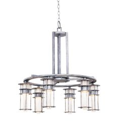 Kalco 7297RI Anchorage 6 Light Chandelier