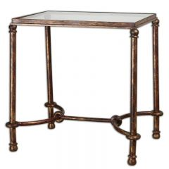 Uttermost 24334 Warring End Table
