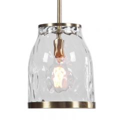 Uttermost 22187 Crossley 1 Light Mini Pendant