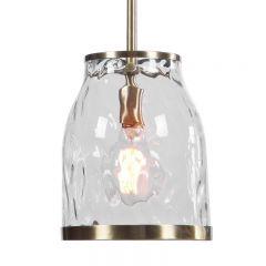 Uttermost 22187 Crossley 1 Light Mini Pendant