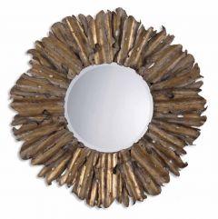 Uttermost 12742 B Hemani Modern Round Wall Mirror