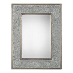 Uttermost 09286 Draven Textured Silver Mirror