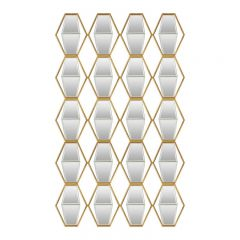Uttermost 04151 Jillian Mirrored Wall Art