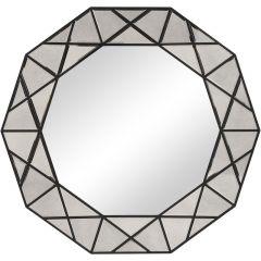 Uttermost 09672 Manarola Decagon Shaped Mirror