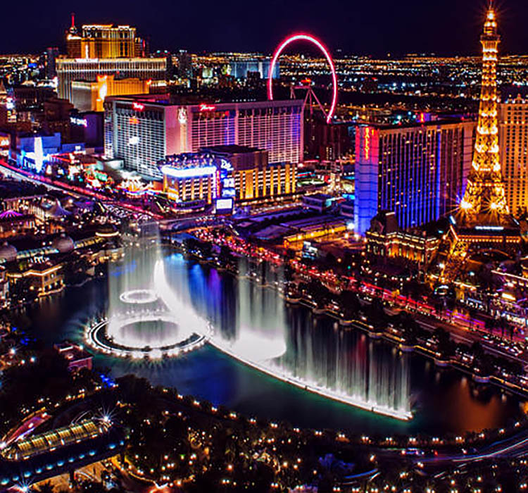 Bringing Home the Glitz, Glamour, Twinkle of Las Vegas